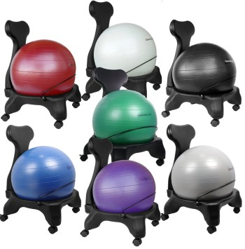isokinetics inc brand balance exercise stability ball chair