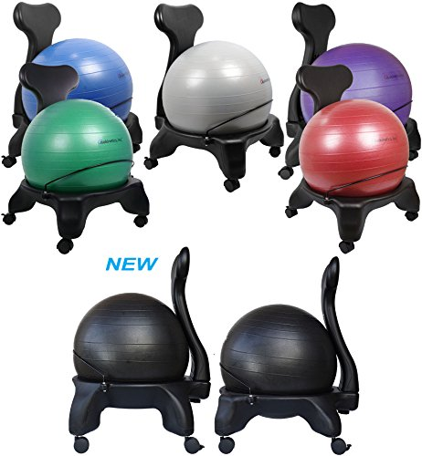 2 isokinetics exercise ball chair